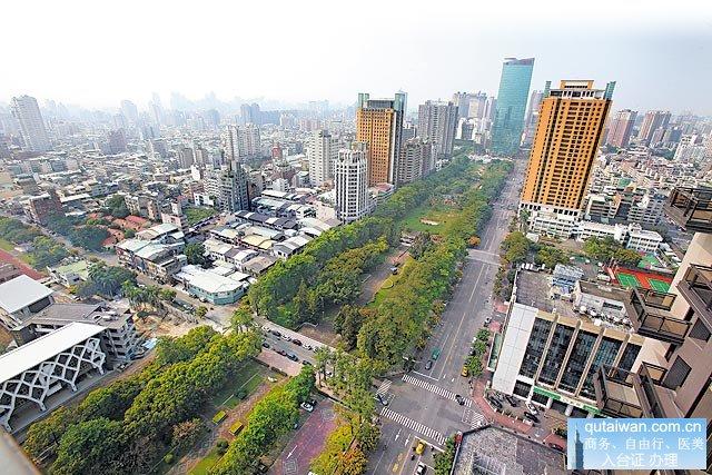 台中大力兴建城市基础建设