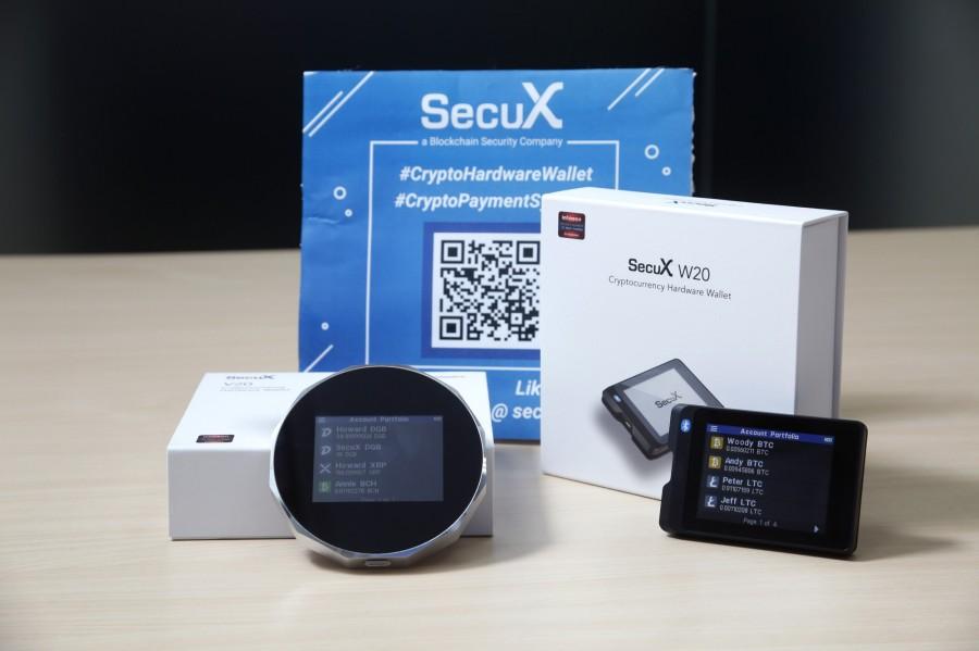 钱包作为区块链的入口之一,SecuX设计的钱包可以管理不同货币,并支援蓝牙跟USB连线。
