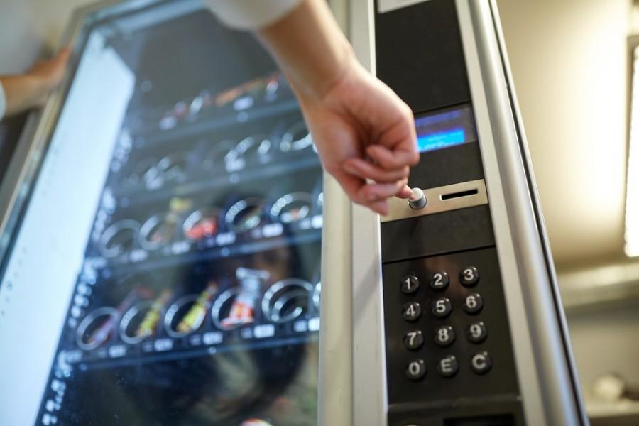 结合区块链与数位身分认证技术,让传统贩卖机一秒升级。