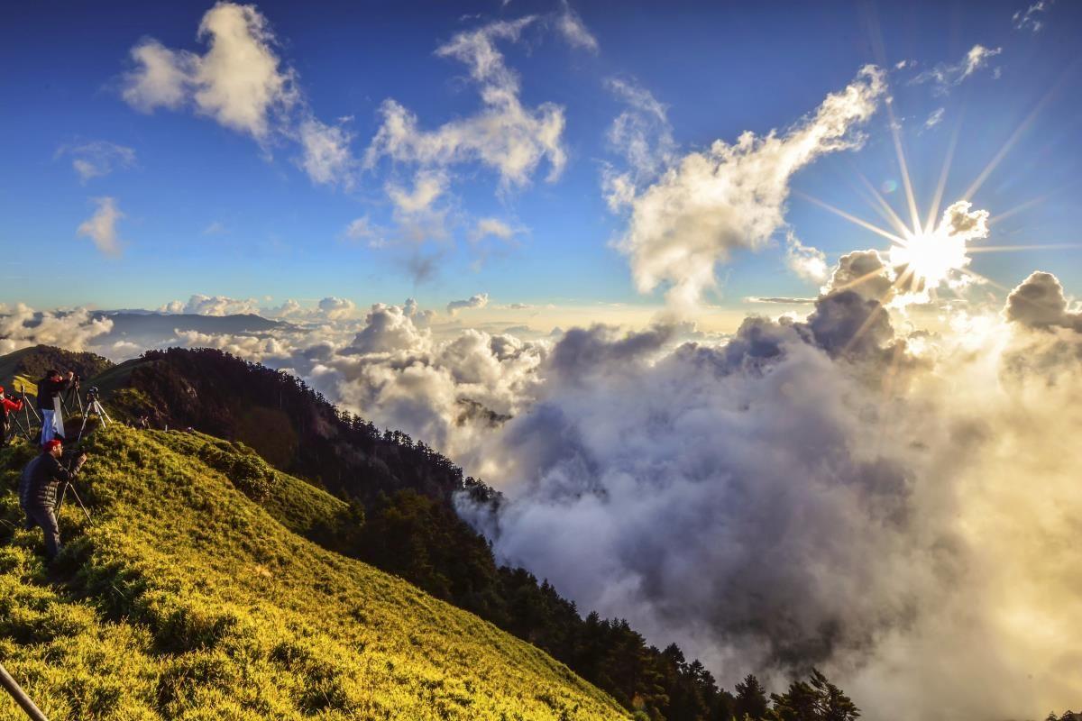 山顶摄影绝佳位置