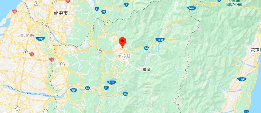 台湾埔里镇地图地理位置
