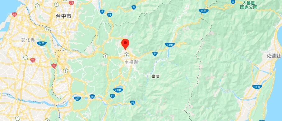 南投中台禅寺地图地理位置