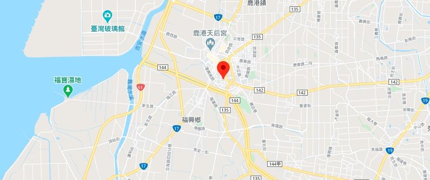 鹿港龙山寺地图地理位置