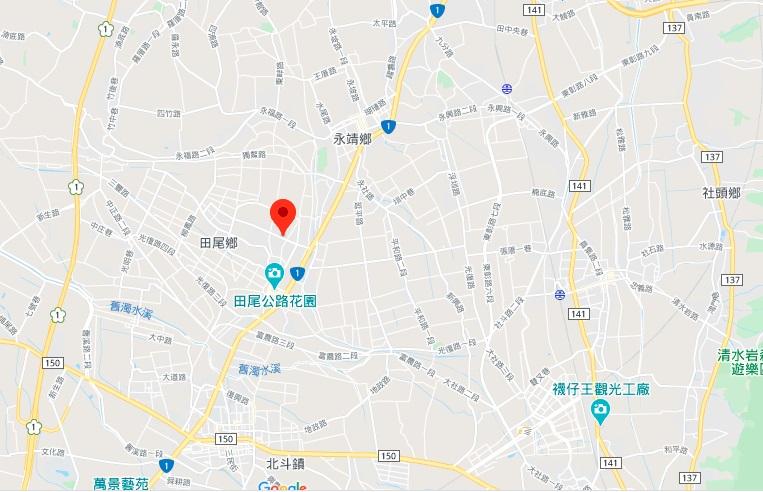 彰化田尾公路花园地图地理位置