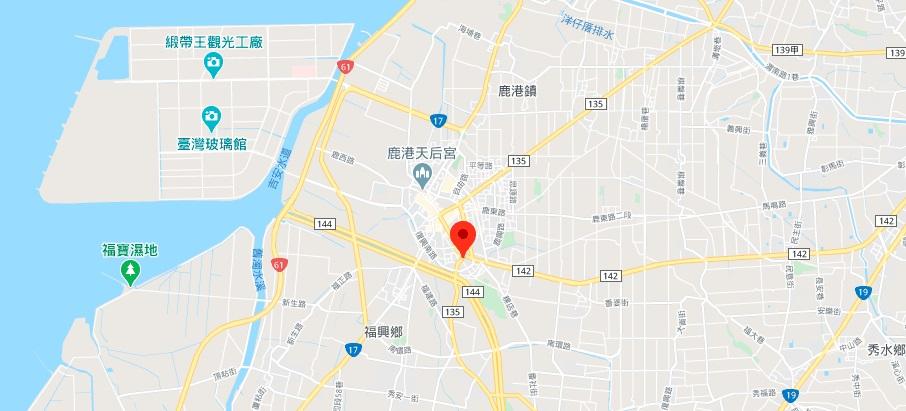 彰化文武庙地图地理位置