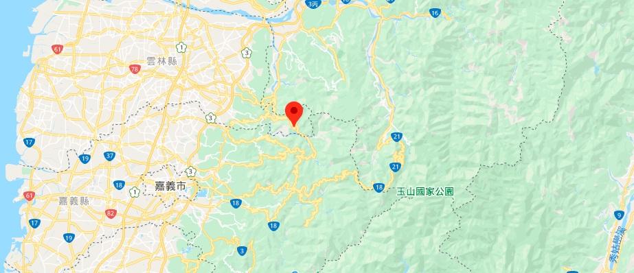 云林草岭风景区 地图地理位置
