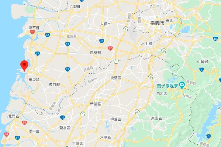 嘉义高跟鞋教堂地理位置地图