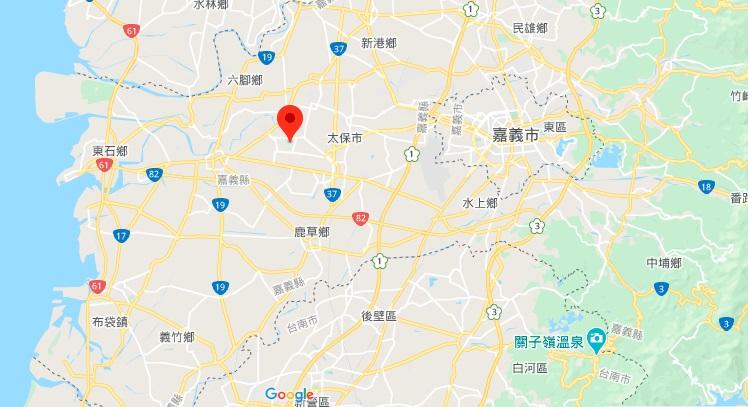 嘉义故宫地理位置地图