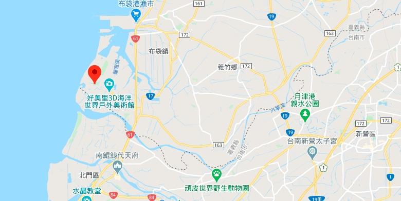 地理位置地图