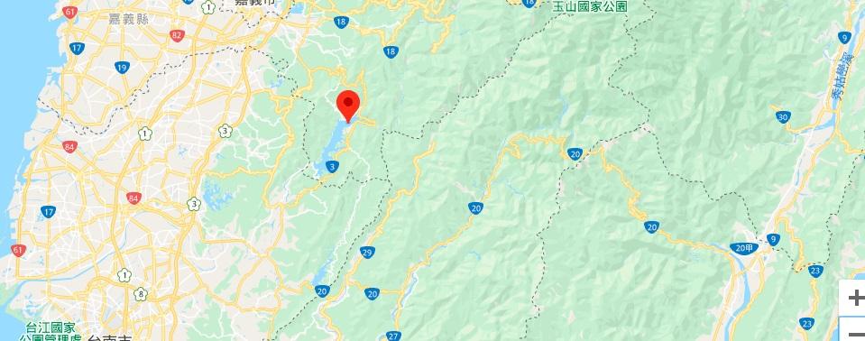 嘉义西拉雅风景区地理位置地图