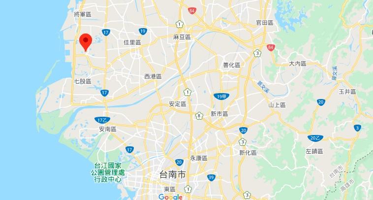 台湾盐博物馆地理位置地图