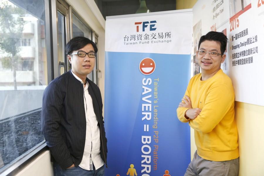图左:乔美国际行销企划经理侯建旭,图右:乔美国际董事长简政。