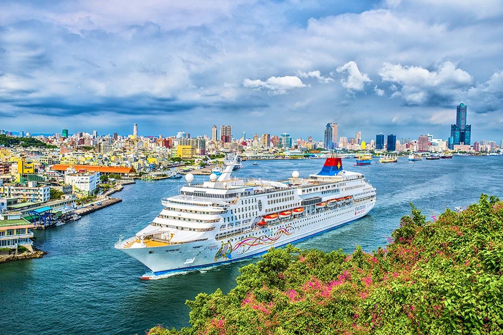 港口美丽 视觉享受