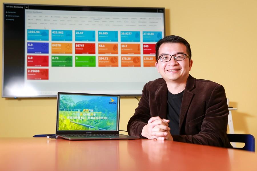农译科技共同创办人CEO陈文亮。