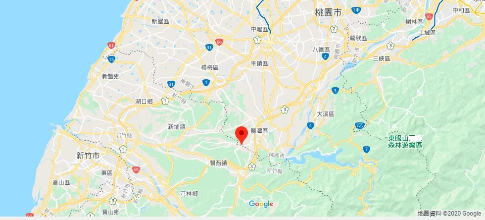 新竹六福村主题游乐园地理位置地图