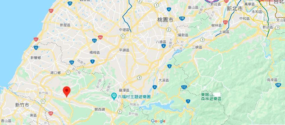 新埔小镇地理位置地图