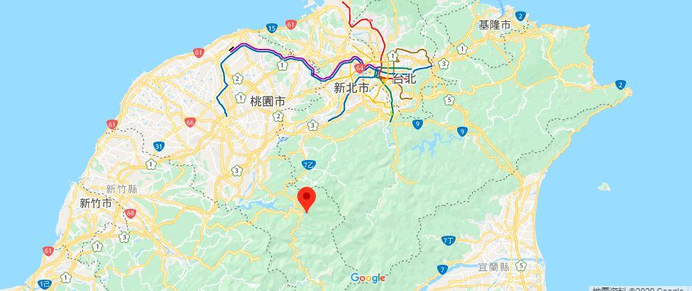 小乌来地理位置地图