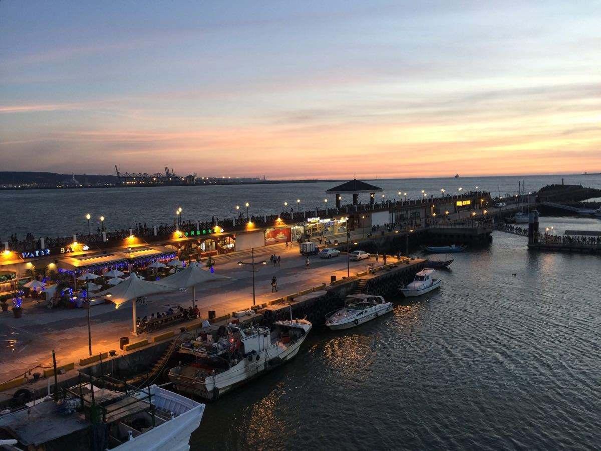 日落黄昏下 渔人码头美不胜收