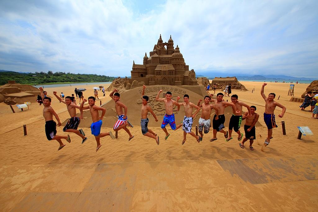 福隆海水浴场 国际沙雕节