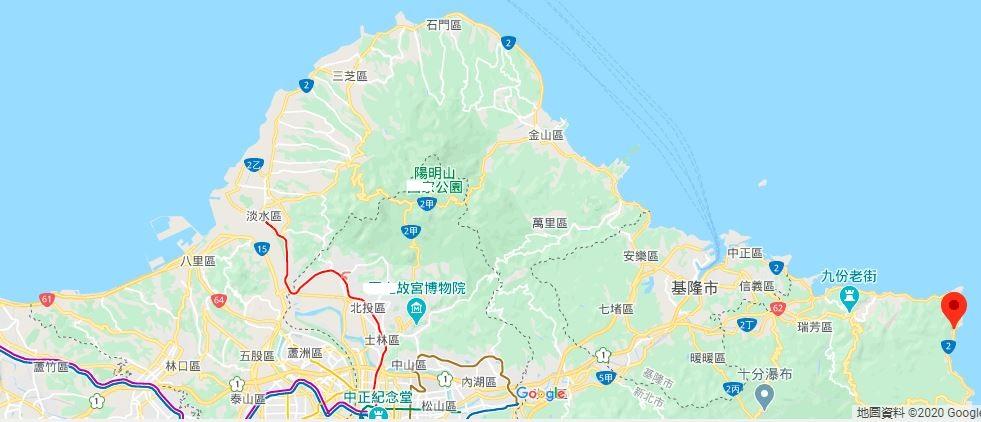 龙洞南口海洋公园地理位置地图
