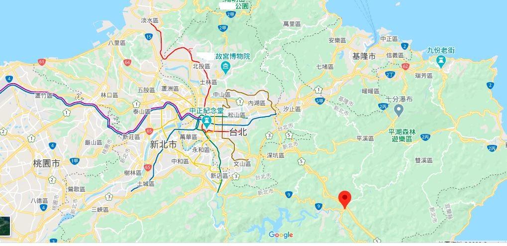 坪林茶业博物馆地理位置地图