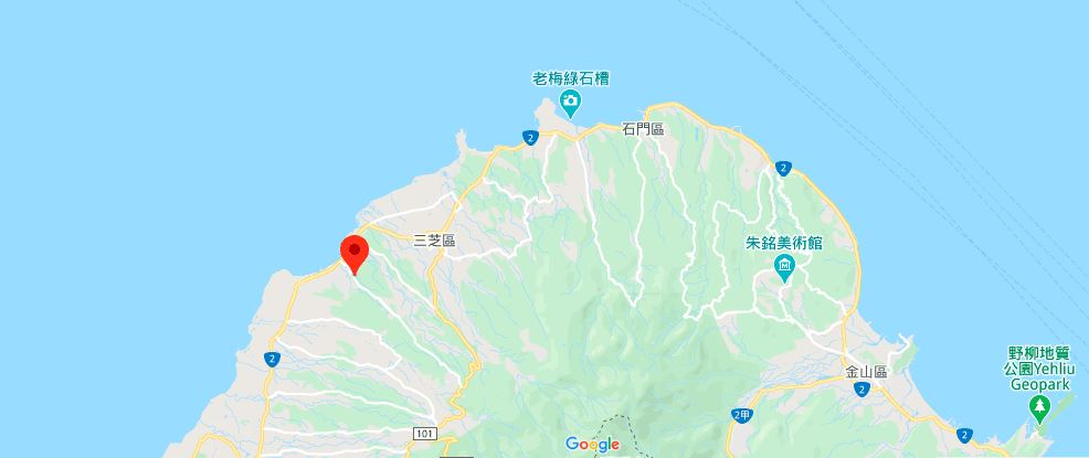 新北樱木花道地理位置地图