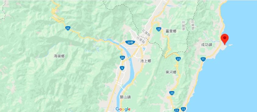三仙台地理位置地图