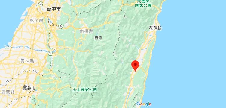 花莲大农大富平地森林园区地理位置地图