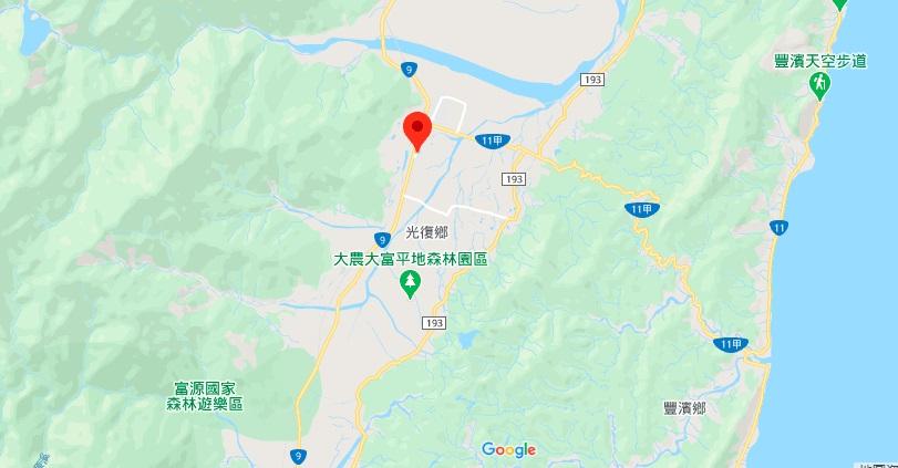 花莲观光糖厂地理位置地图