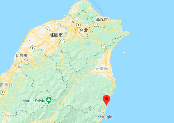 苏花公路地理位置地图