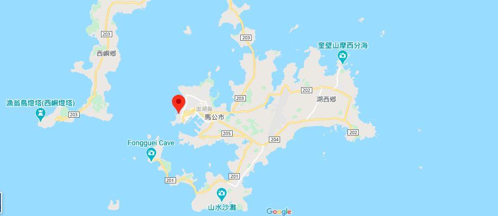 澎湖观音亭地理位置地图
